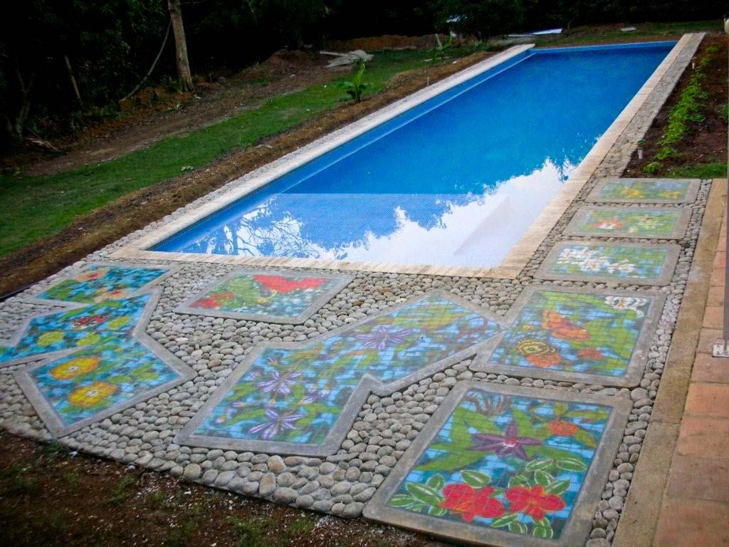 Paisajismo para piscinas juegos de agua para piscina with for Paisajismo para piscinas